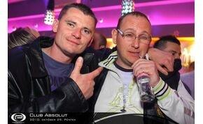 Club Absolut - 2010. október 29. péntek