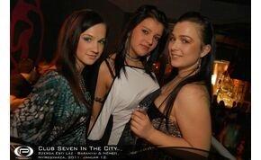 Nyíregyháza, Club Seven In The City - 2011. január 12.  Szerda