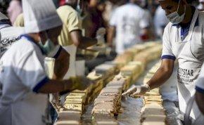 6,5 km a világ leghosszabb tortája