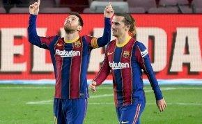 A Barcelona simán győzött, a Milan csak szenvedett