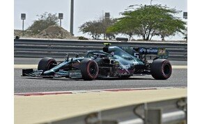 F1: Bahreini-teszt képekben