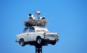 30 évvel ezelőtt gördült le az utolsó Trabant a gyártósorról - galéria