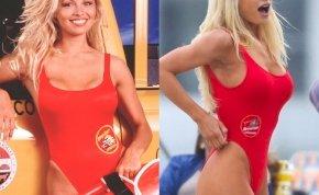 Elérkezett az idő, dönteni kell: melyik színésznőn áll jobban az ikonikus, piros fürdőruha?