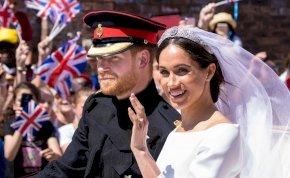 Harry és Meghan három éve mondták ki a boldogító igent, így nézett ki a csodaesküvő - galéria