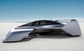 Nem éppen egy DeLorean, de azért még így is menő: íme a jövő repülő autója – képek