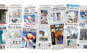 Így reagáltak az újságok címlapjai a 2001. szeptember 11-ei terrortámadásra – galéria
