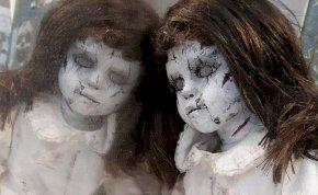 Ki fog rázni a hideg ezektől a horrorbabáktól – galéria