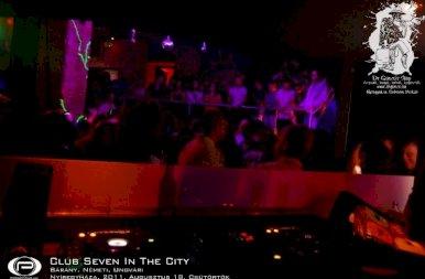 Nyíregyháza, Club Seven In The City - 2011. Augusztus 18. Csütörtök