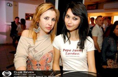 Nyíregyháza, Club Seven Café - 2012. Április 19. Csütörtök