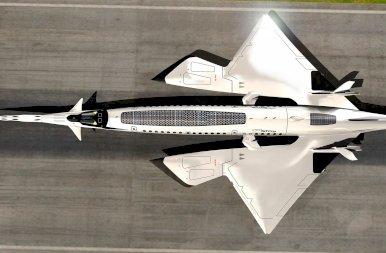 A jövő szuperszonikus repülője, amit a méh fullánk inspirált