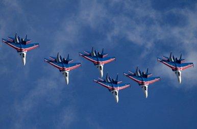 Roppant extrém: ilyen légi bemutatót bizony nem látni minden nap