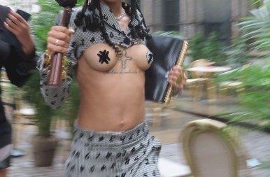 Coi Leray mindenkit megbotránkoztatott a melleivel a New York-i divathéten – 18+ fotók