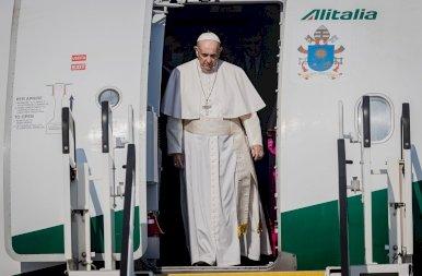 Ferenc pápa délután már Szlovákiában volt – galéria