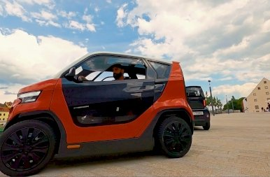 Nagyon cuki a világ egyik legkisebb autója – galéria