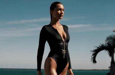 Bella Hadid lett az új James Bond – fotók