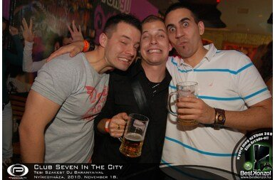 Nyíregyháza, Club Seven - 2010. november 18. Csütörtök