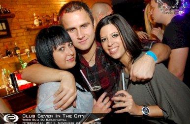 Nyíregyháza, Club Seven In The City - 2011. November 24. Csütörtök